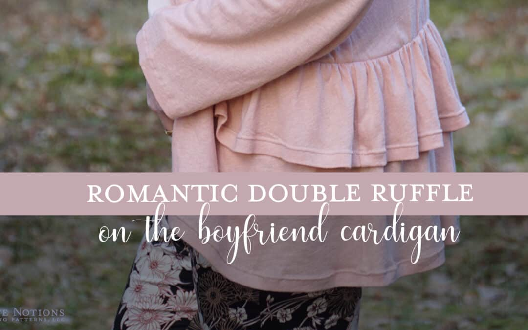 How to make a Ruffle Hem Cardigan