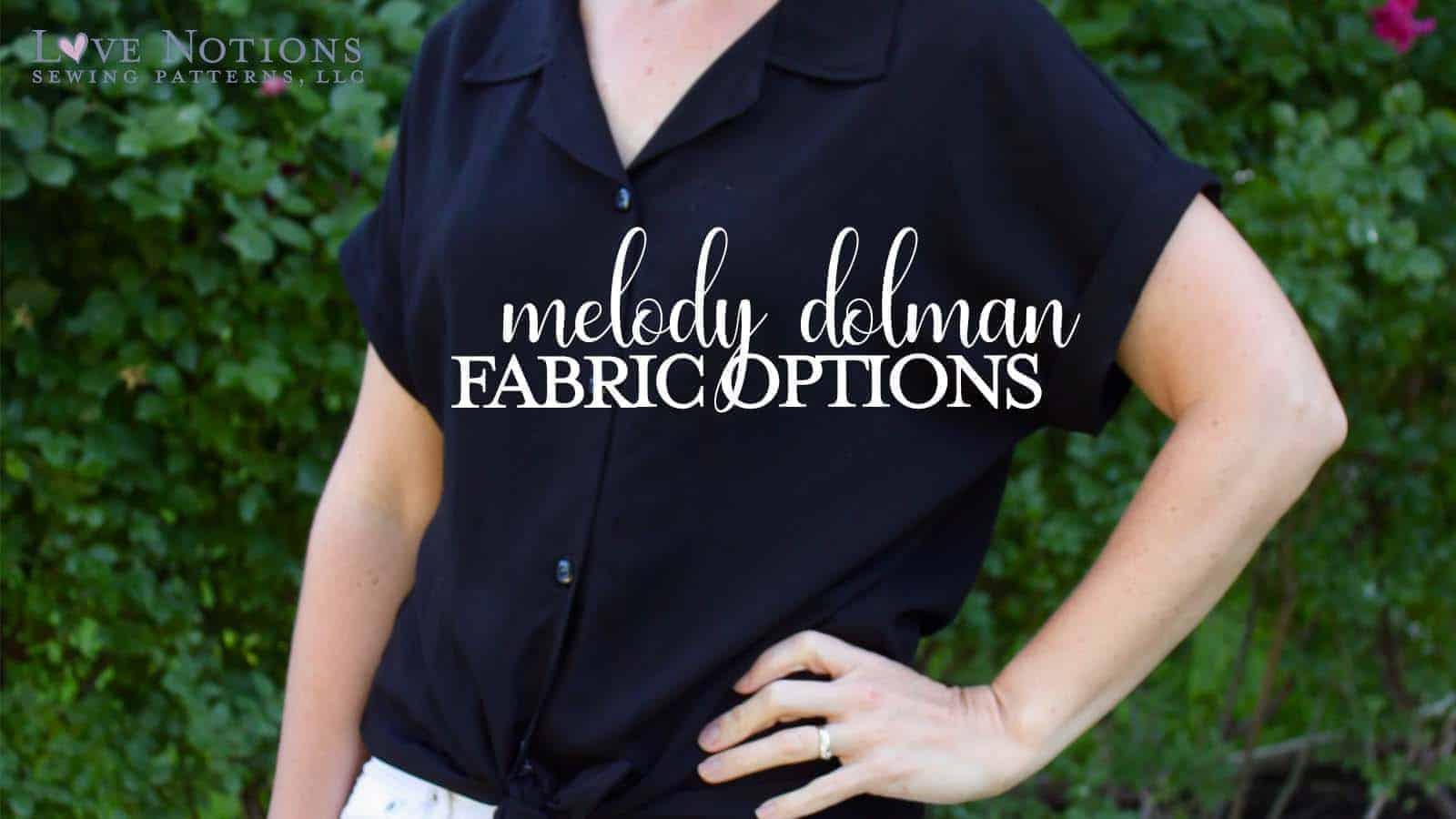 Melody dolman fabric