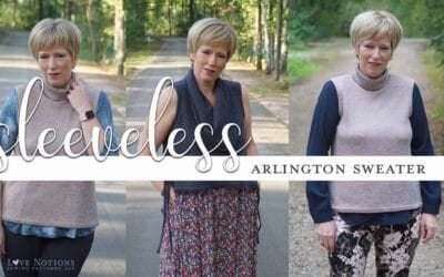 How to make a sleeveless sweater