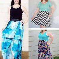 bluezette maxi dress