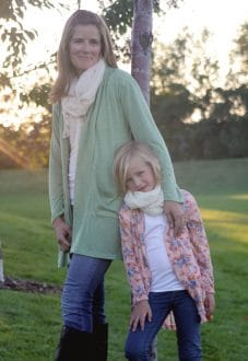 mommy and me cardigans
