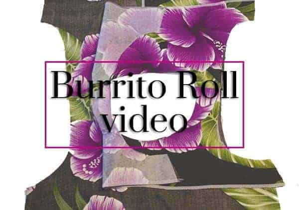 burrito roll technique video