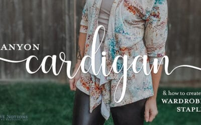 Canyon Cardigan: How to Create a Wardrobe Staple