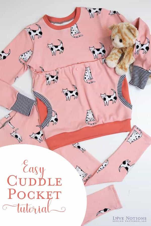 cuddle pocket tutorial