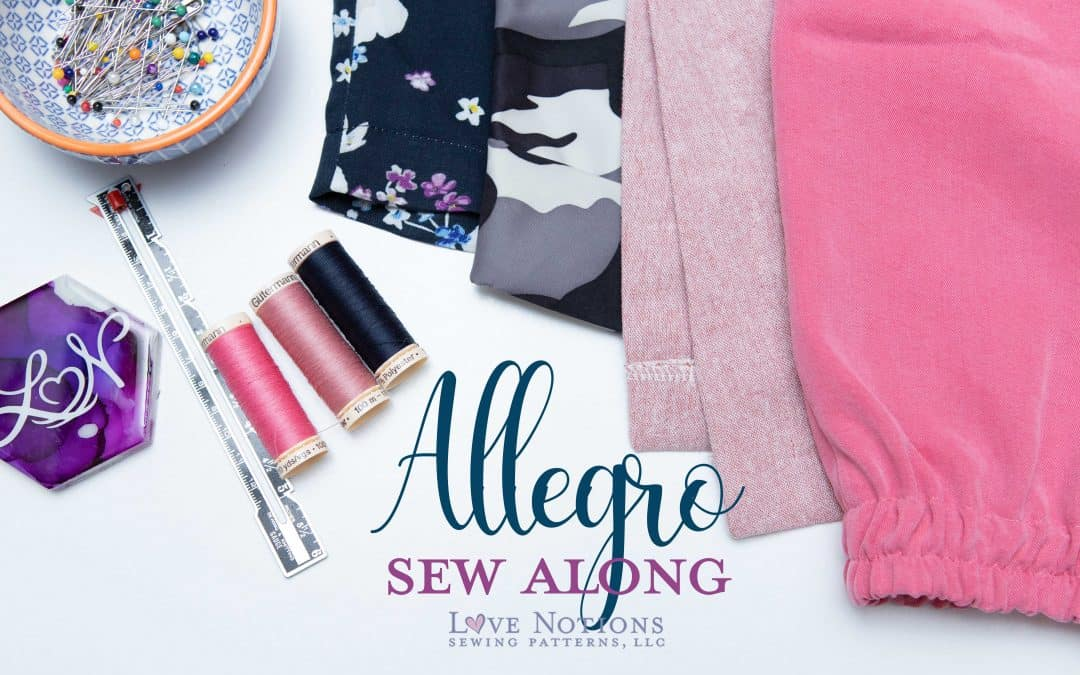 Allegro Sew Along Day Five