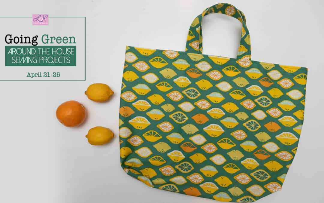Going Green: How to sew a market tote bag