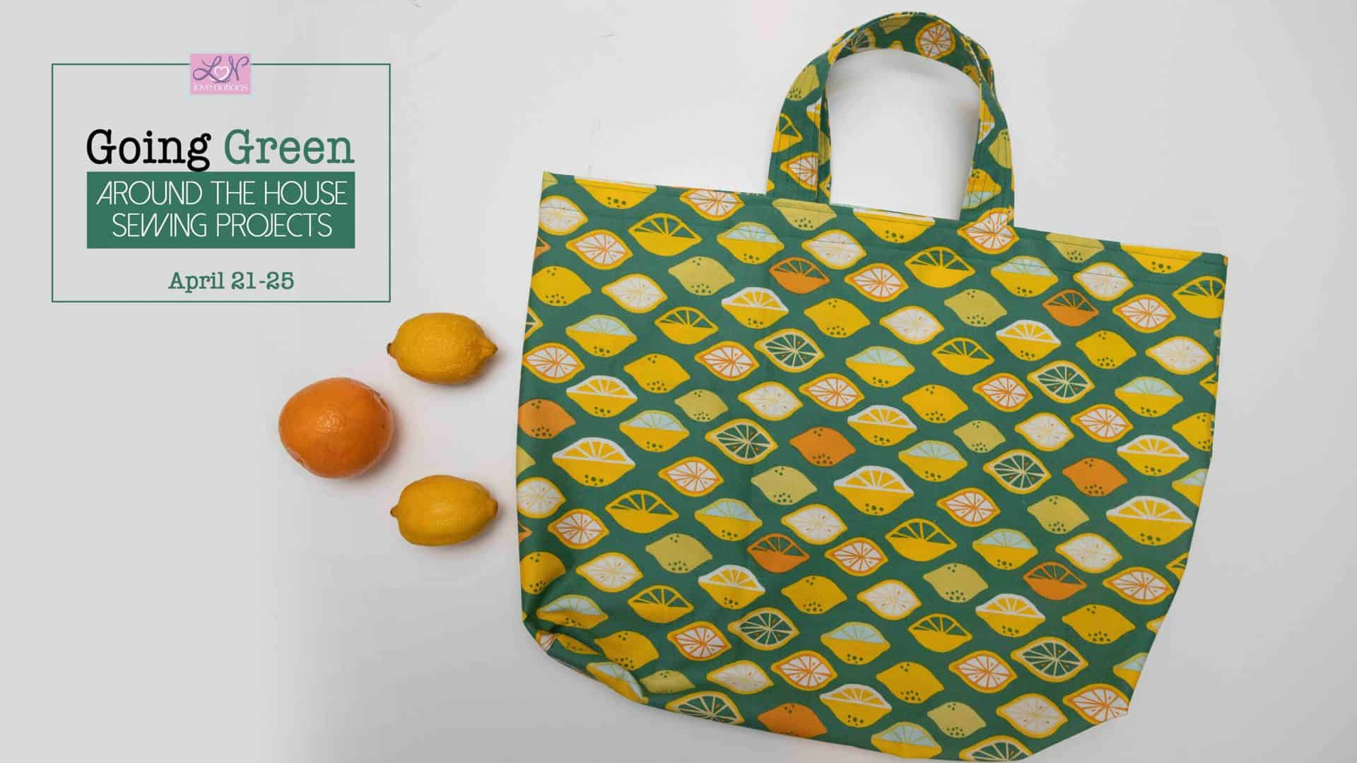 how to sew a tote