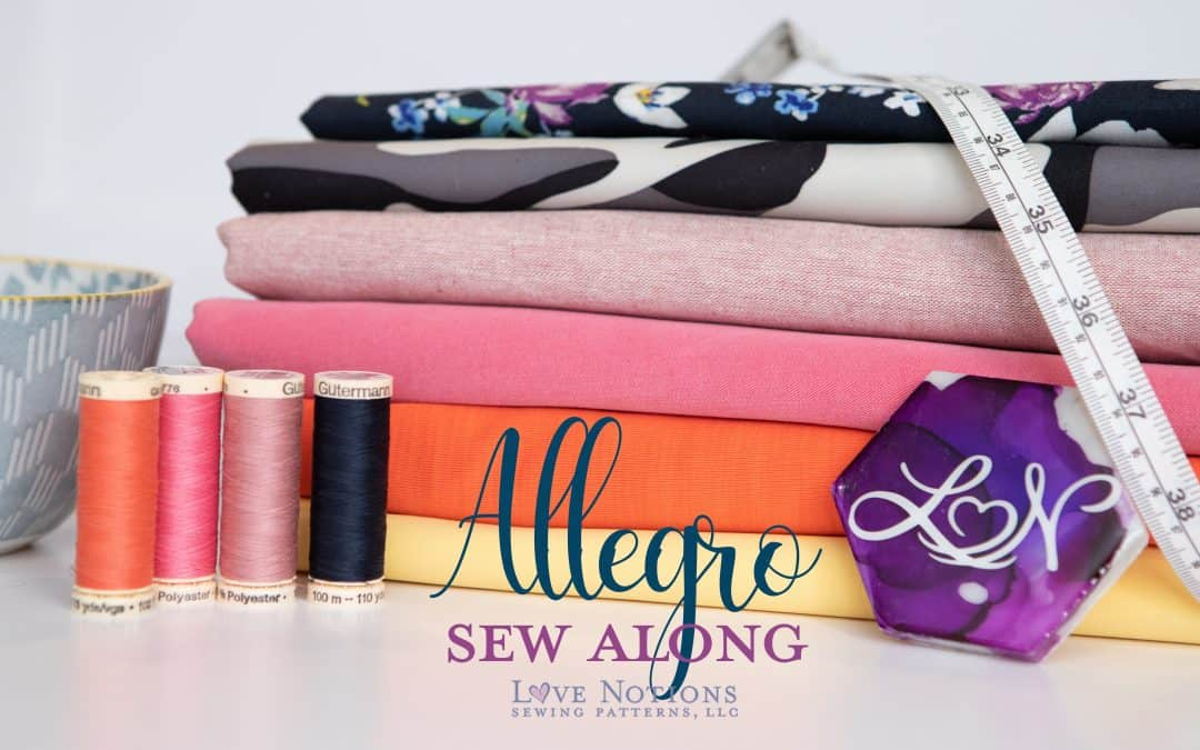 Allegro Sew Along: Day One
