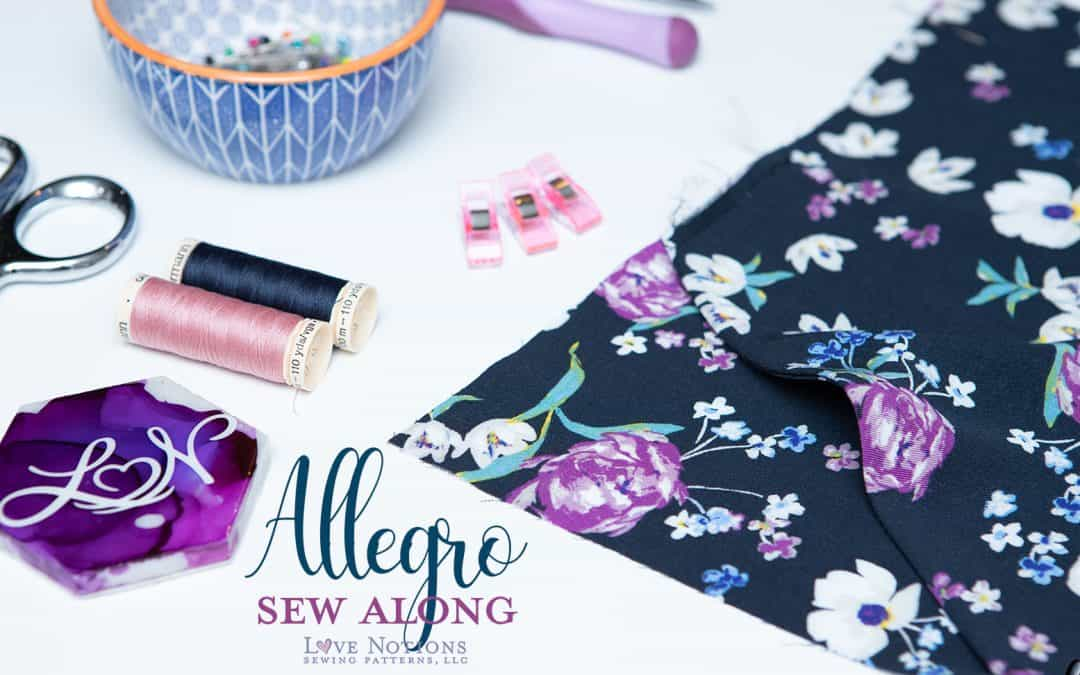 Allegro Sew Along Day Two