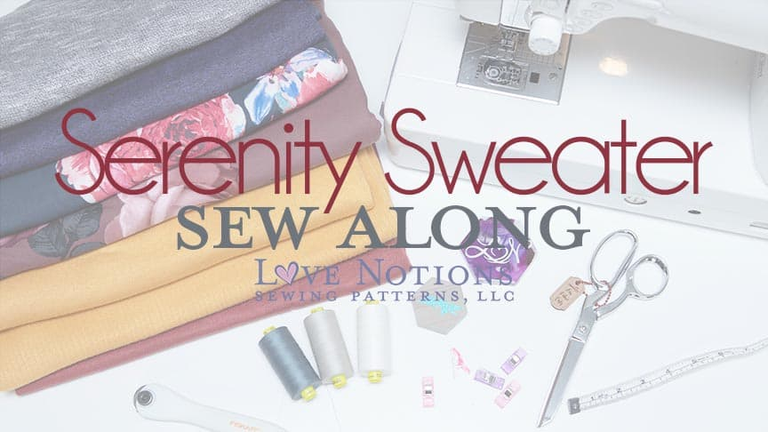 Serenity Sew Along Day One