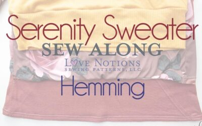 Serenity Sew Along: Day Five