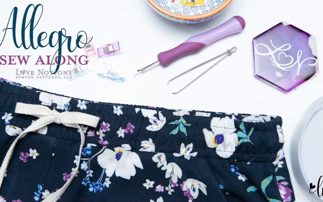 Allegro Sew Along Day Four