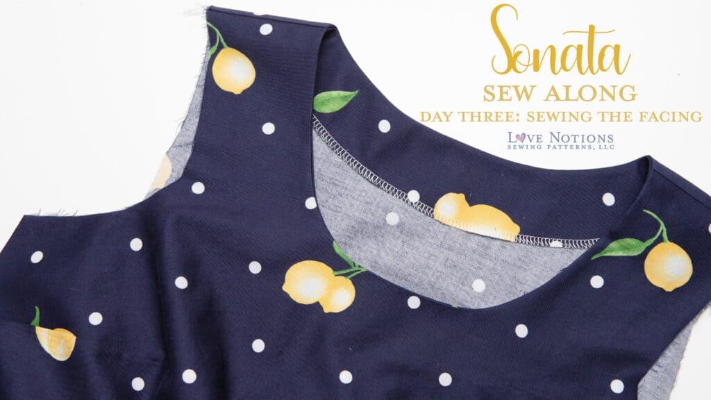 sonata sew along day three