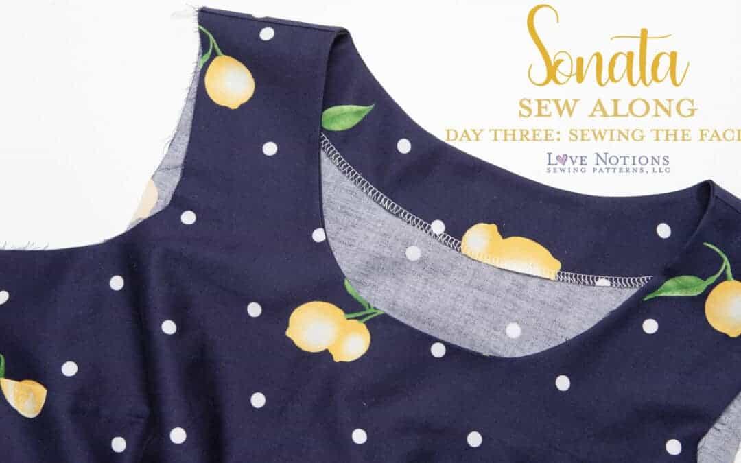 Sonata Sew Along: Day Three
