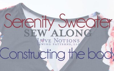 Serenity Sew Along: Day Three