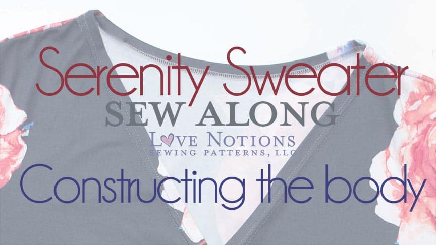 serenity sweater sewalong