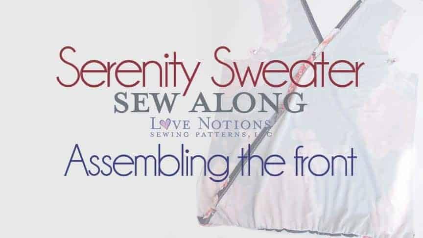 serenity sweater sewalong