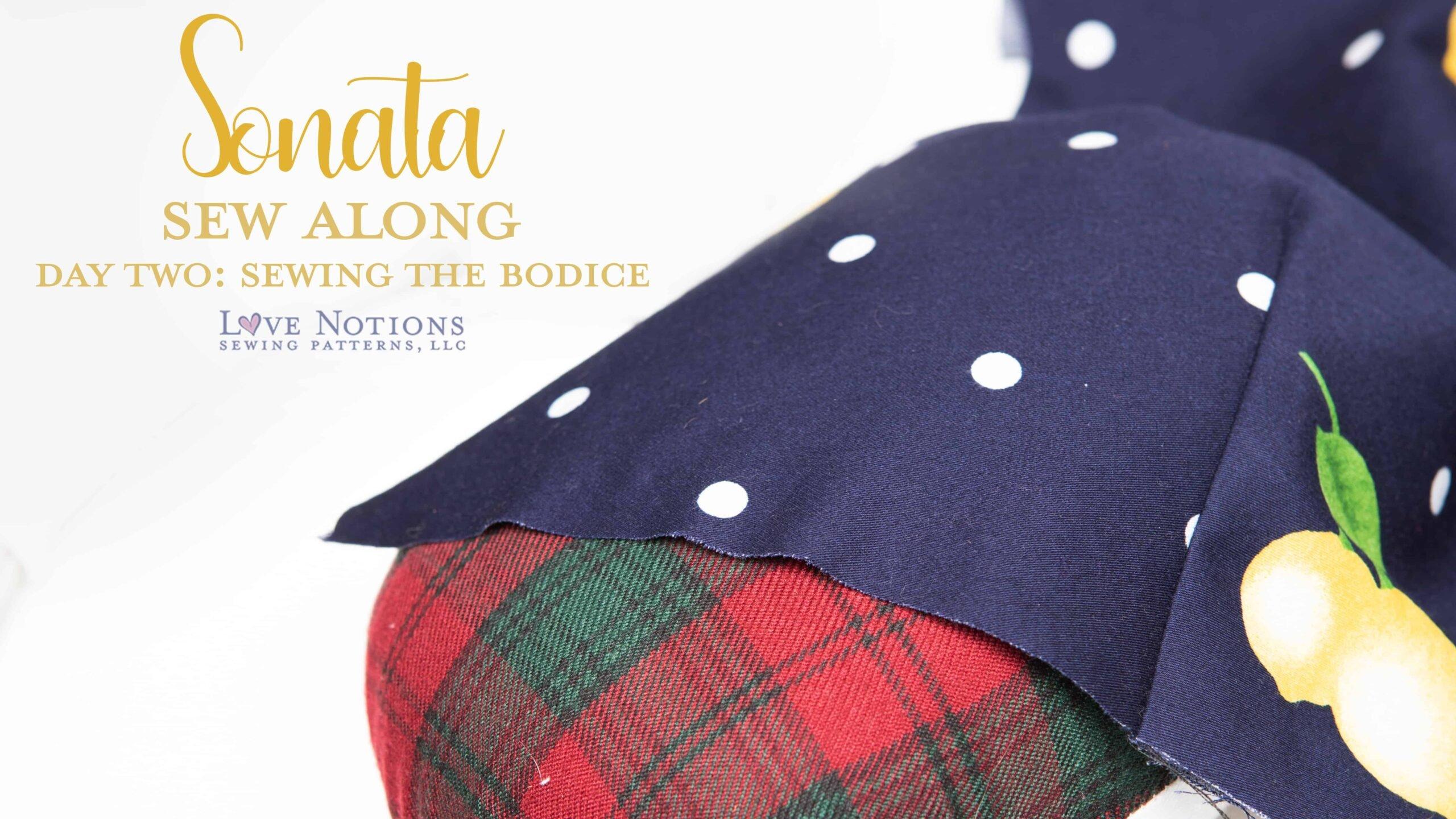 Sonata Sew Along Day Two