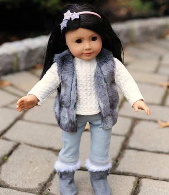 Doll Peanut Vest