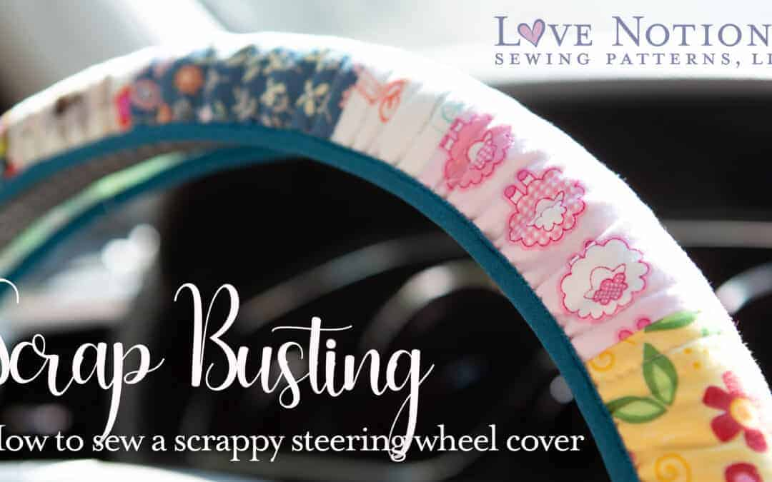 Scrap busting: Steering Wheel Cover