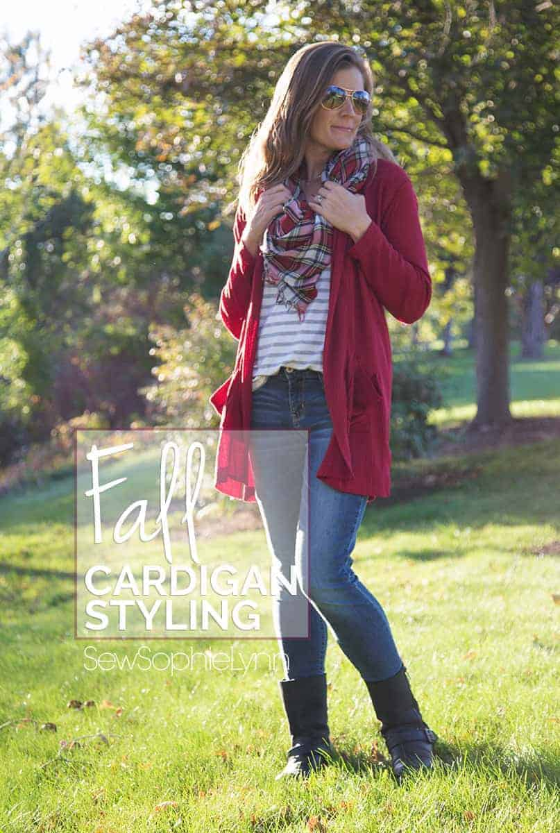 How to style a cardigan