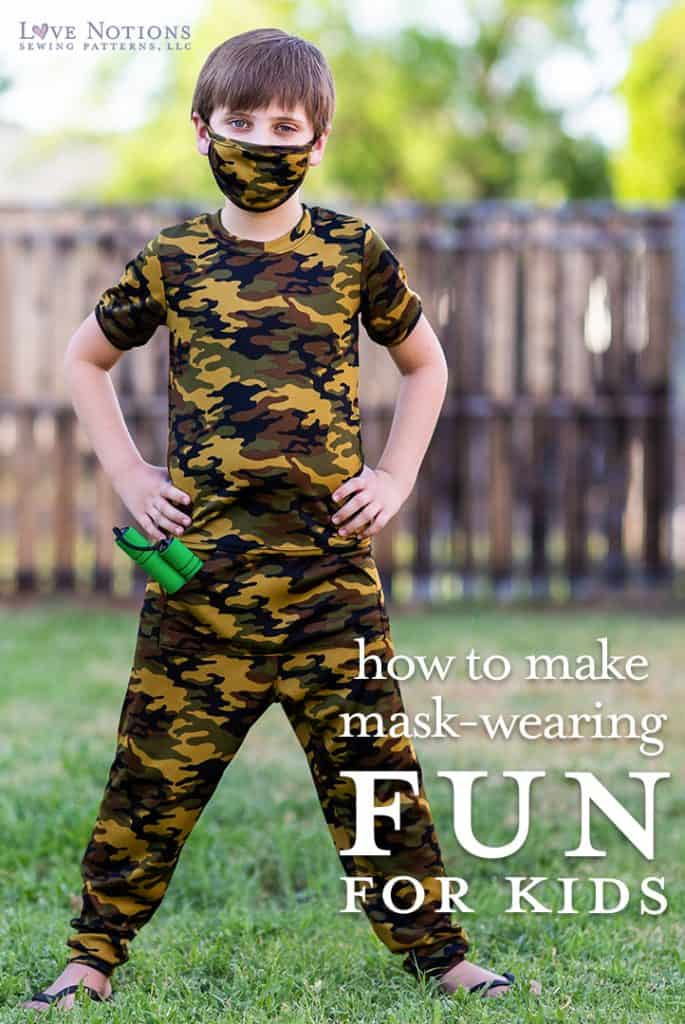 how to make mask-wearing fun for kids
