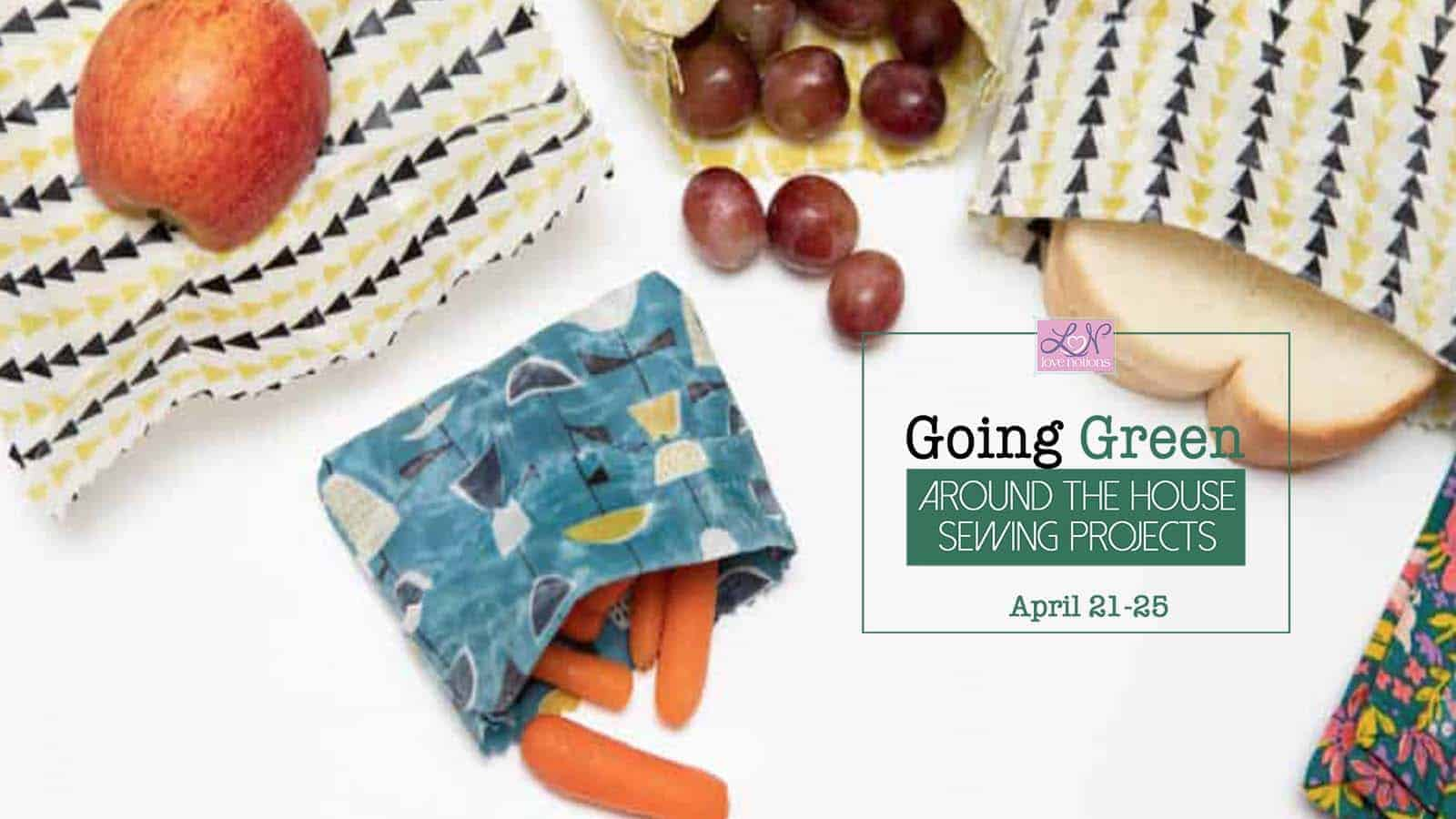 going green snack bags