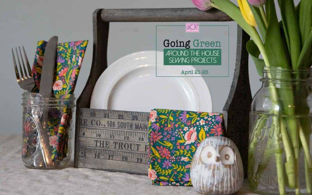 Going Green: How to make cloth napkins