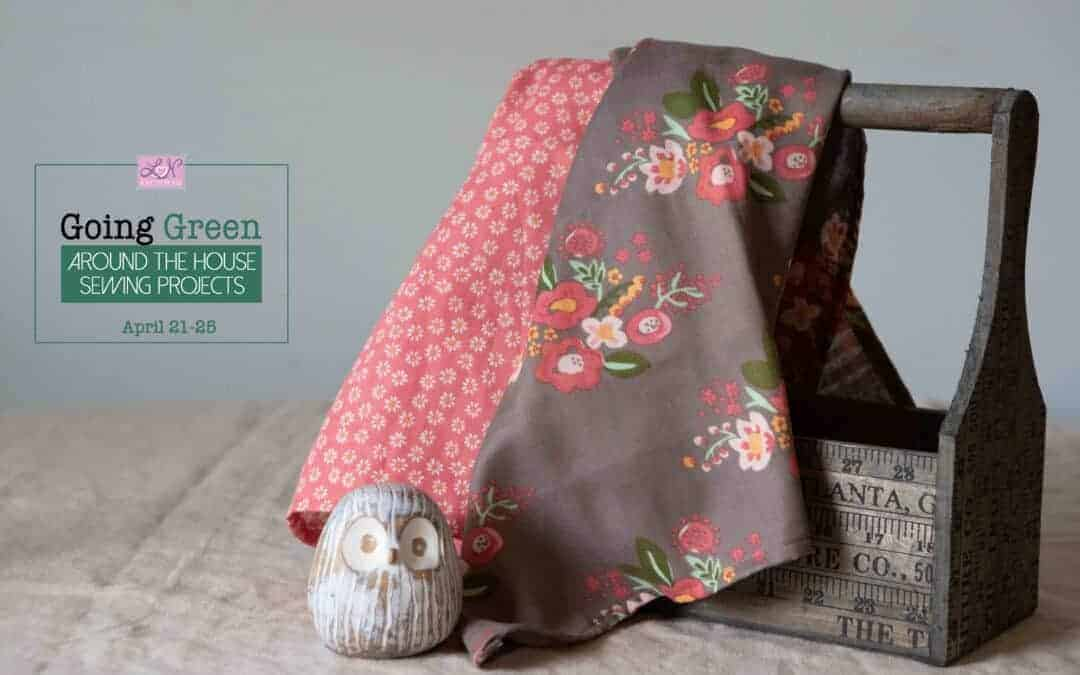 Going Green: How to sew a tea towel