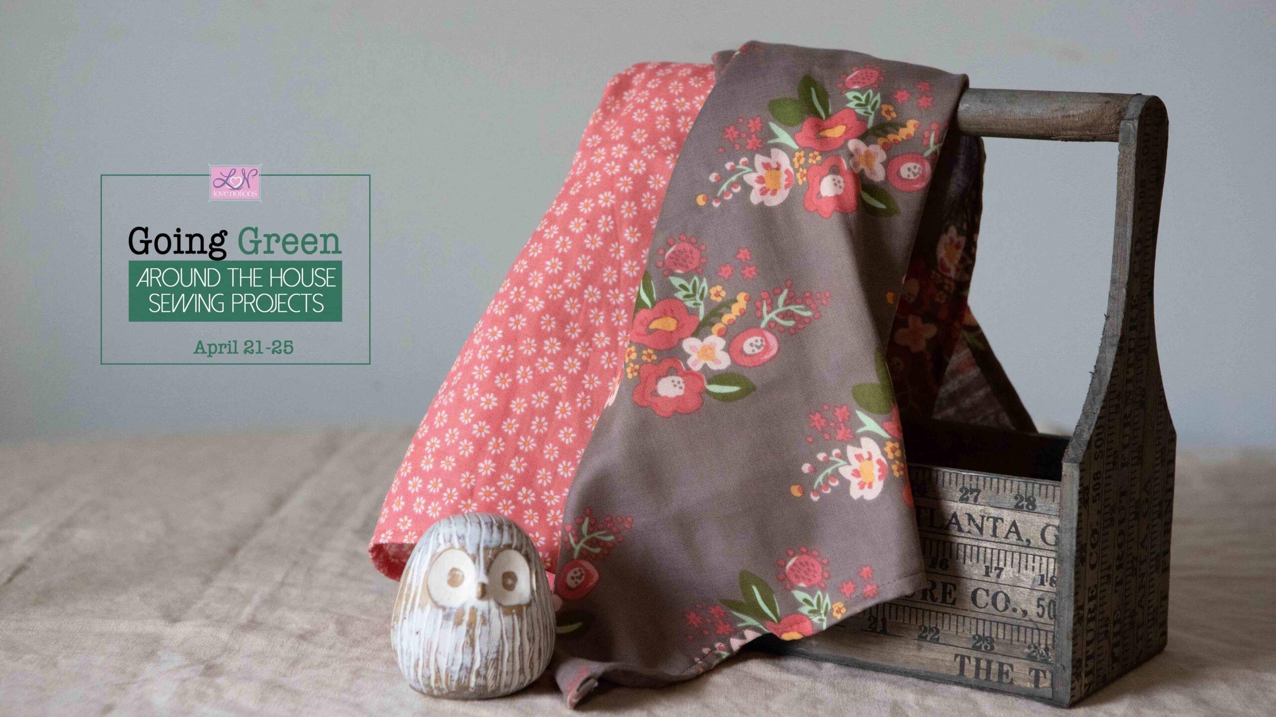 how to sew tea towels