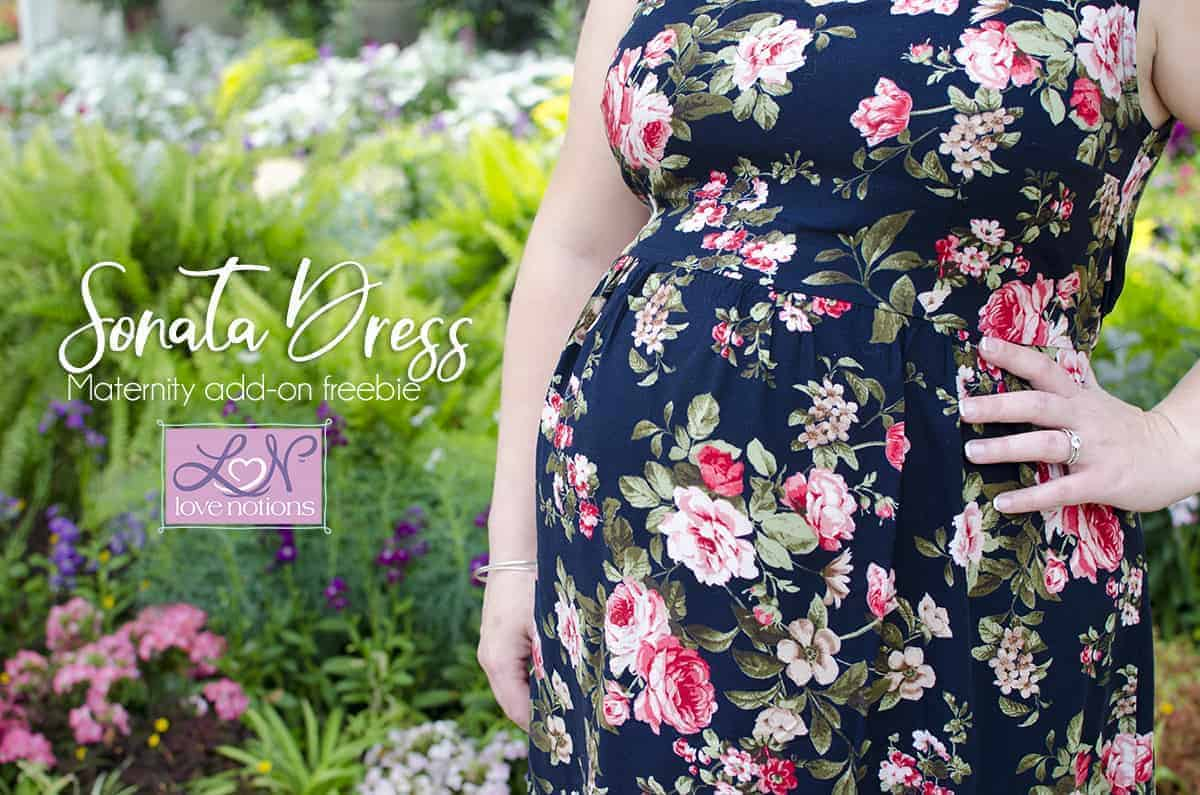 Sonata Dress Maternity Hack