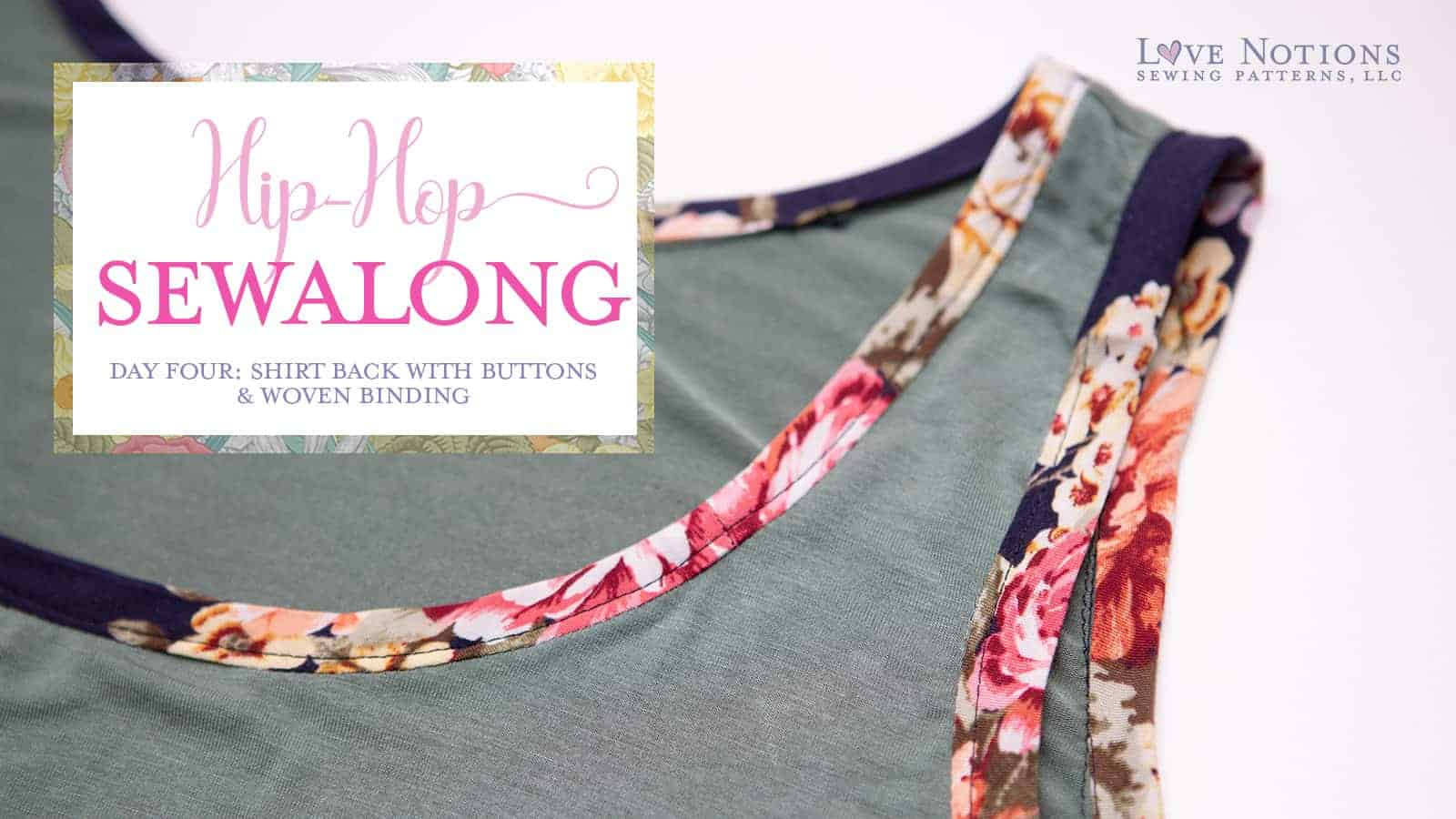 hip hop sew along day four