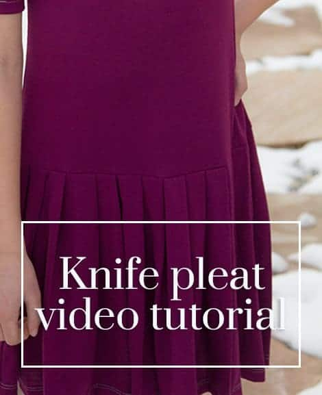 knife pleats video featured image