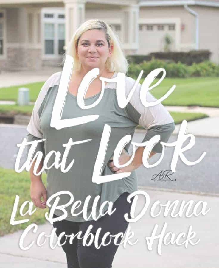 La Bella Donna – colorblock hack