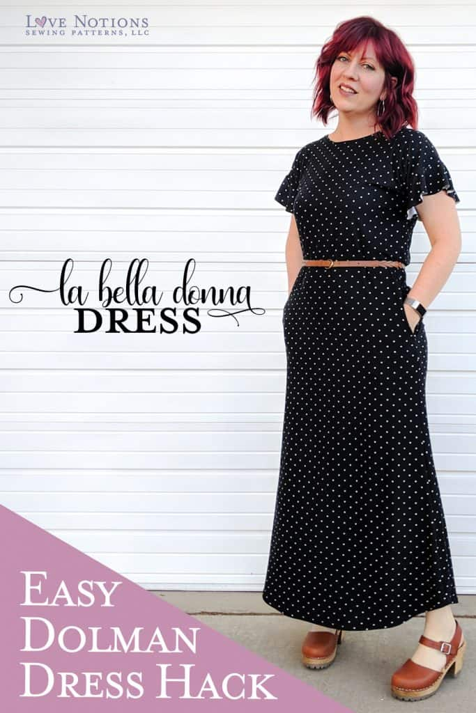 pinterest La bella donna dress hack