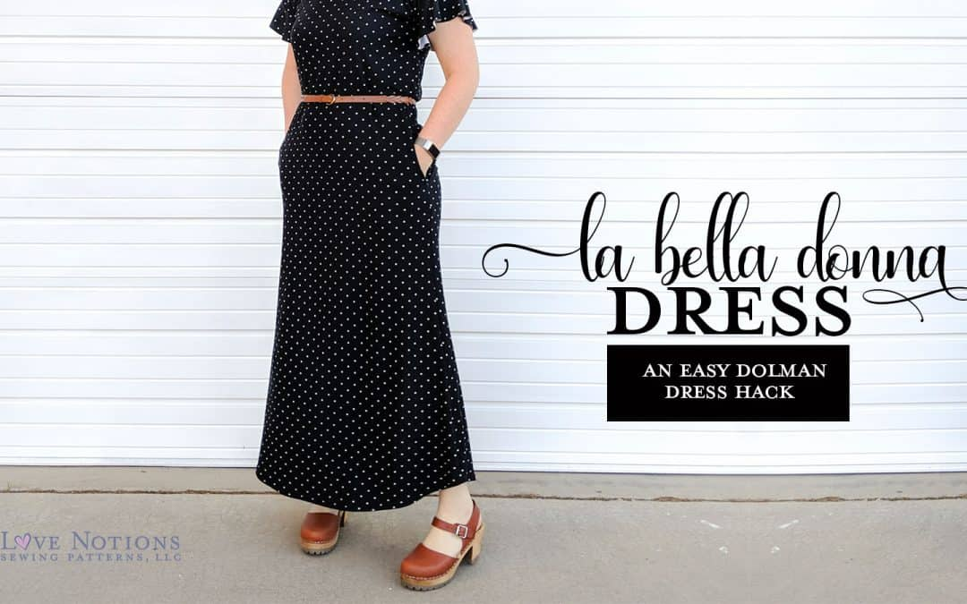 Dolman Dress Hacks plus Sleeve Flounces