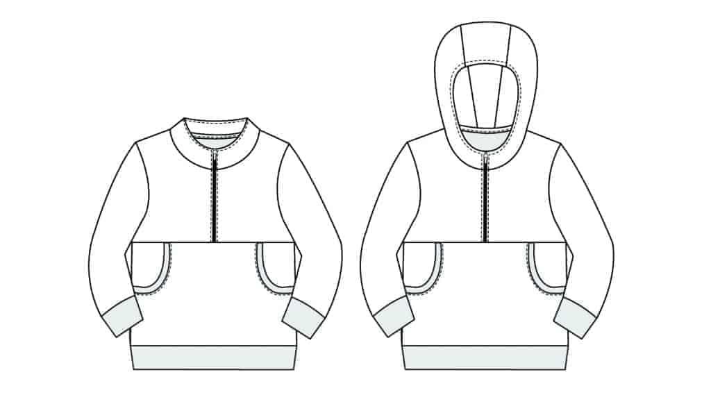 kids pullover pdf pattern