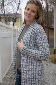 sew your own cardigan
