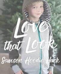 Love Notions Samson zipper hoodie hack