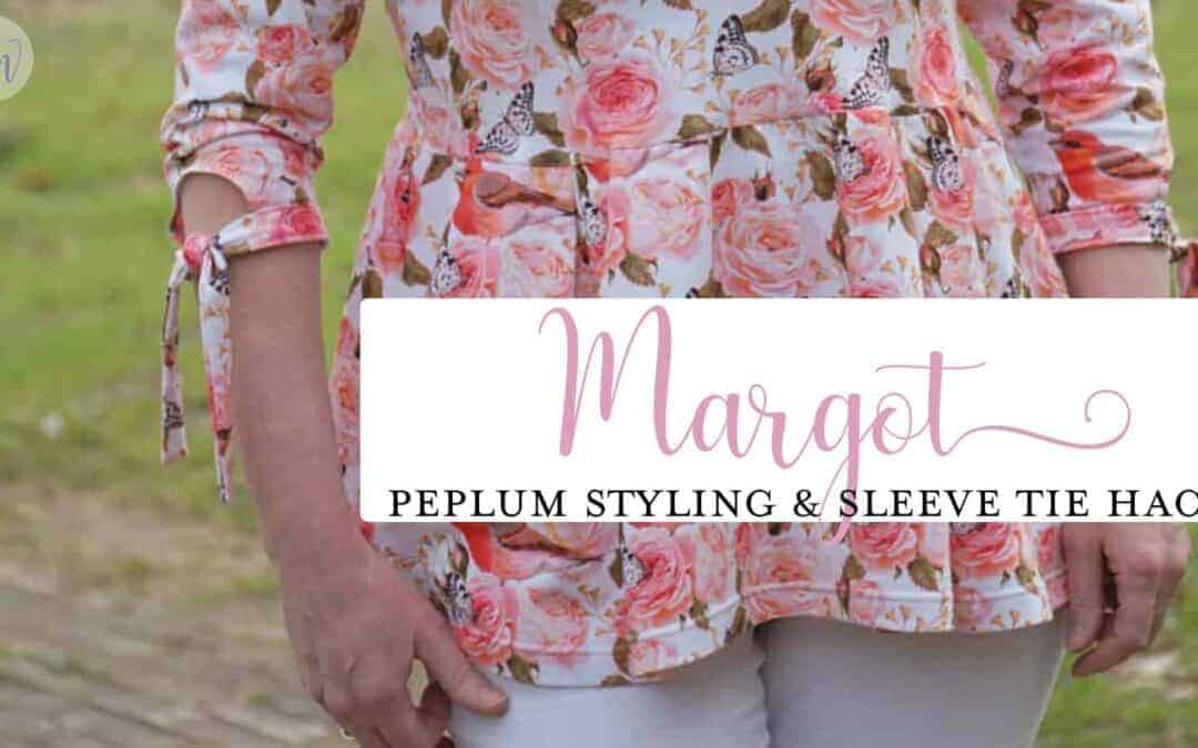Peplum Styling and Sleeve Tie Hack: Margot Update