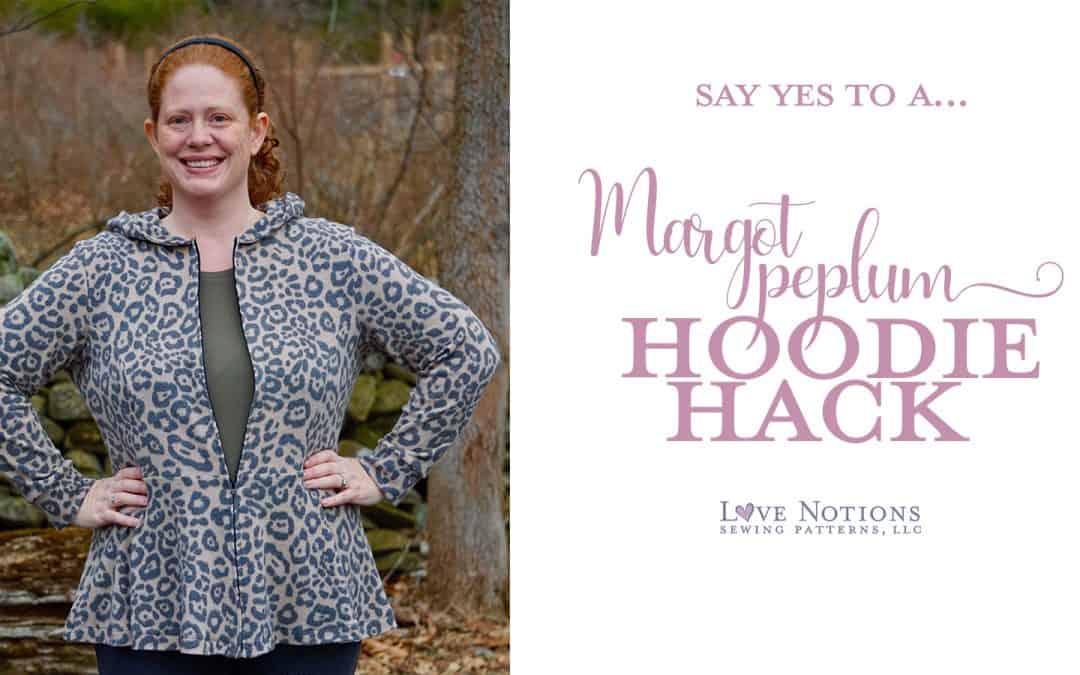 Margot Peplum Hoodie Hack