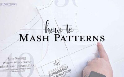 Willow meets Sybil – Tips for a Successful Pattern Mash