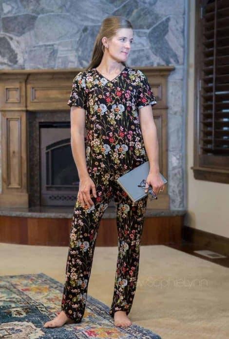 Ladies pajama sewing pattern