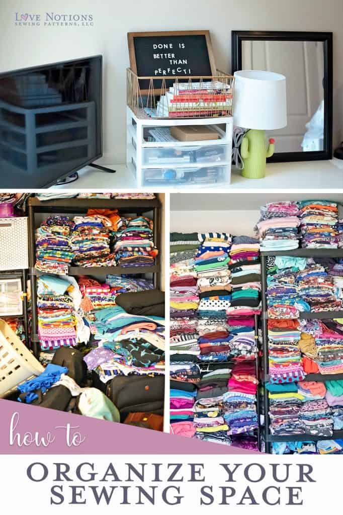 Organize Your Sewing Space