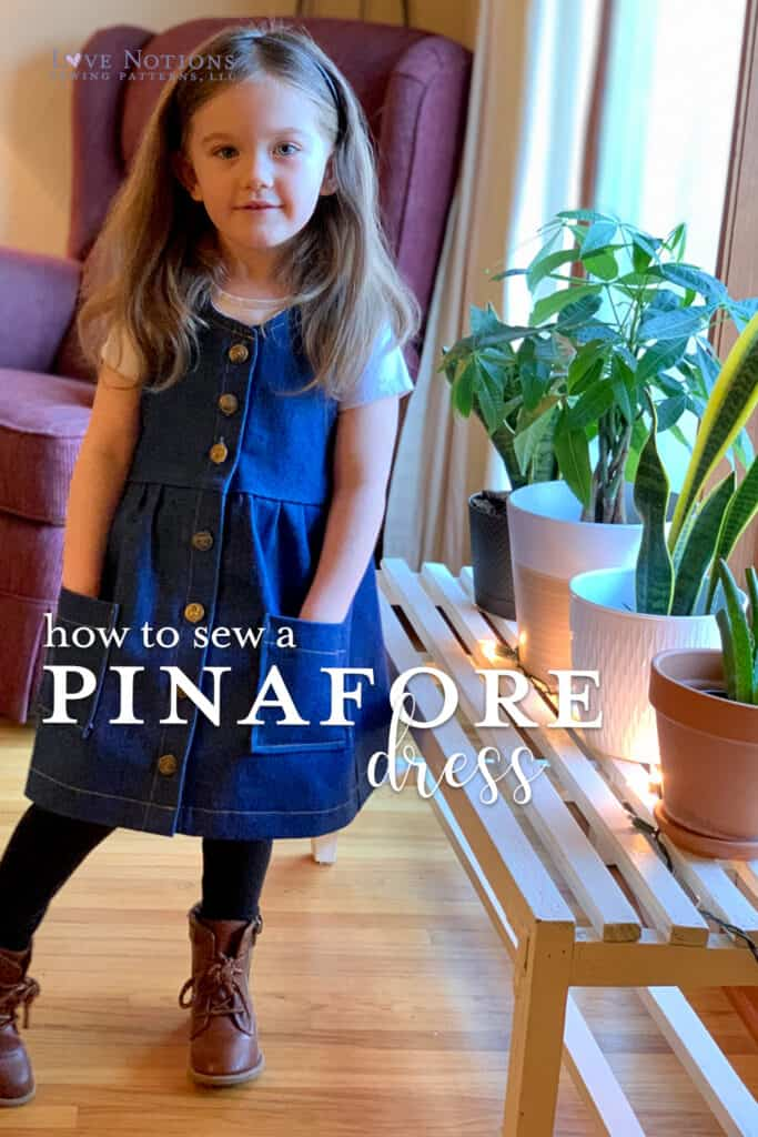 pinafore dolce dress
