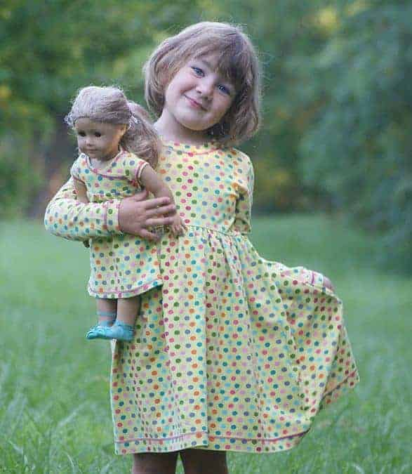 Doll Everyday Playdress