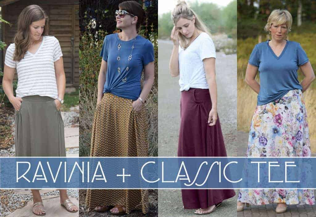 How to wear a casual skirt