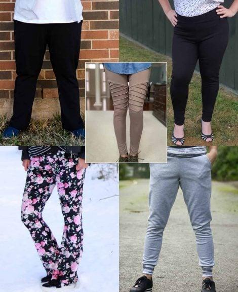 Resolution Bottoms pants pdf pattern