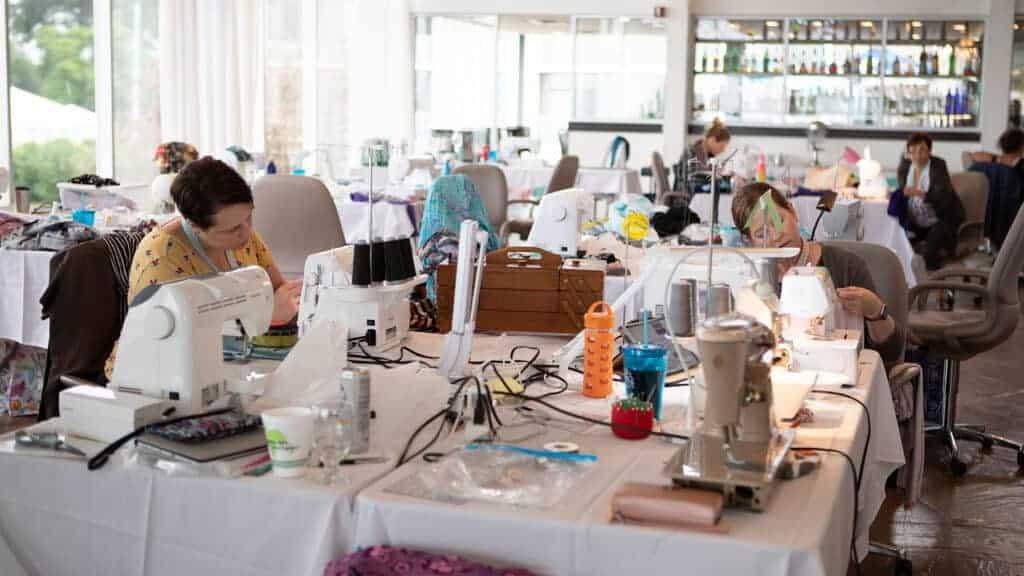 Garment sewing retreat