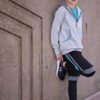 kid hoodie pdf pattern